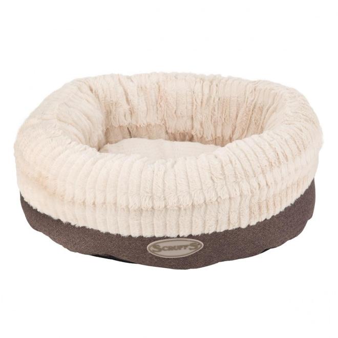 Scruffs Ellen Donut Hundbädd Grå