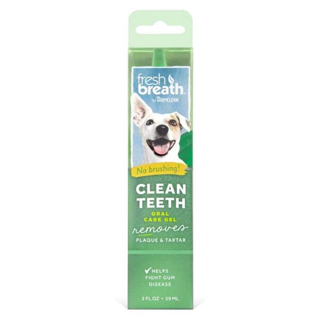 Tropiclean Fresh Breath Clean Teeth Oral Gel Dog (59 ml)