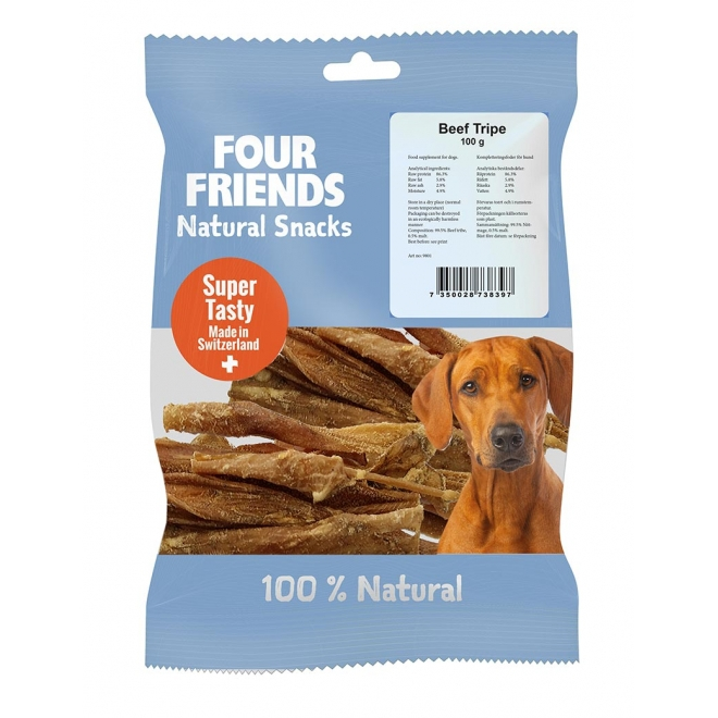 FourFriends Dog Natural Snacks Beef Tribe (100 g)