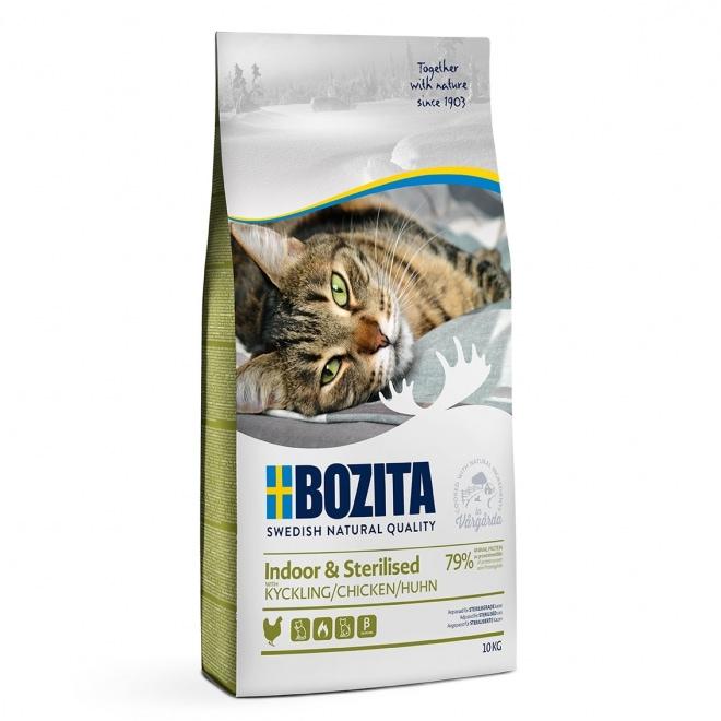 Bozita Indoor & Sterilised Chicken (10 kg)