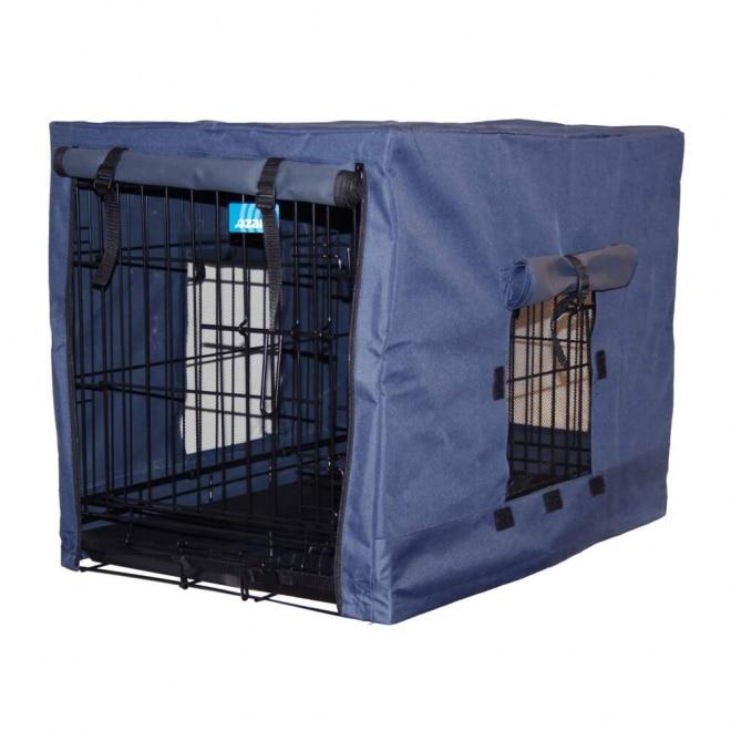 Ozami Överdrag till Hundbur Blå