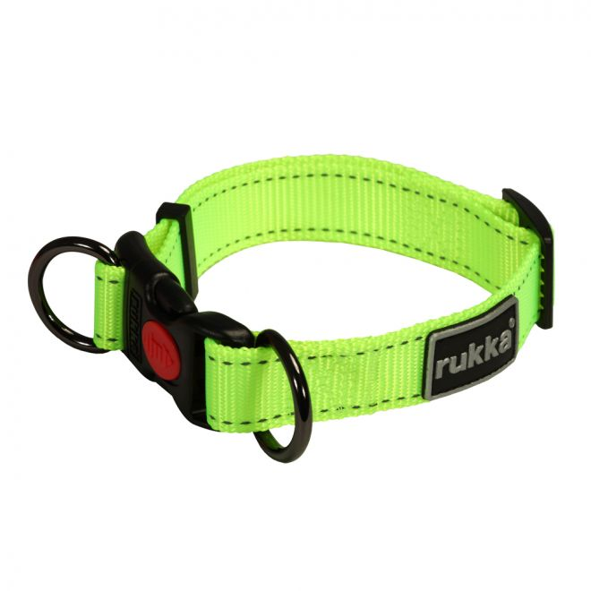 Rukka Bliss Neon Halsband Gul