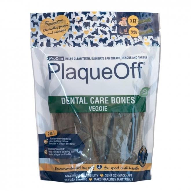 PlaqueOff Dental Care Bones Vegetarisk