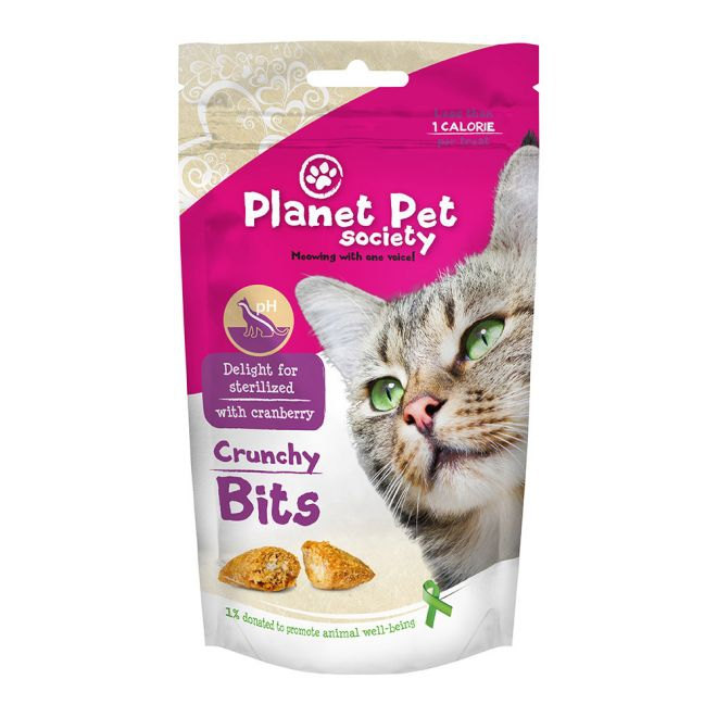 Planet Pet Society Crunchy Bits Sterilized