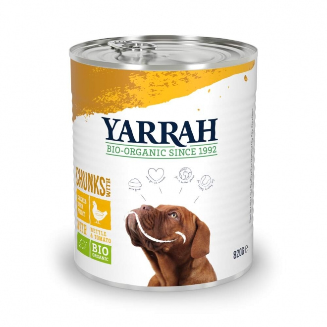 Yarrah Organic Dog Chicken Chunks