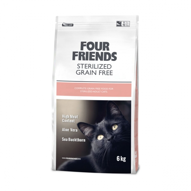 FourFriends Cat Sterilized Grain Free (6 kg)