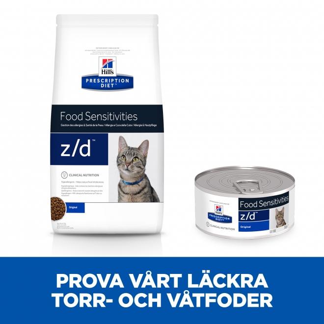 Hill's Prescription Diet Feline z/d Allergy & Skin Care Original