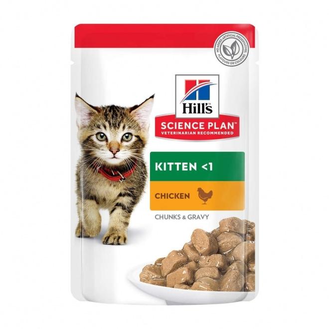 Science Plan Kitten Våtfoder med Kyckling&Havsfisk (12x85g)