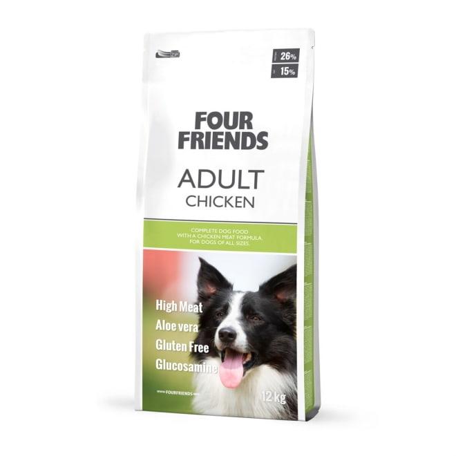 FourFriends Dog Adult Chicken (12 kg)